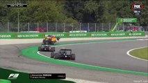 Formule 3 : l'impressionnant vol plané d'Alex Peroni
