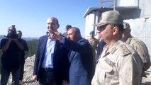 Bakan Soylu önündeki dağı gösterip açıkladı: Şurada 60-65 terörist kaldı, tertemiz hale getireceğiz