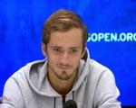 """US Open - Medvedev : """"Je suis quelqu'un de très calme"""""""