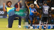 Malinga Takes Four In Four, Becomes First To Take 100 T20I Wickets , ,  Oneindia Telugu