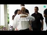 Après le crash de l'atterrisseur indien, il fond en larmes dans les bras du 1er ministre