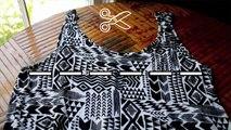 DIY Maxi Skirt (from Maxi Dress)  No-Sew Tutorial