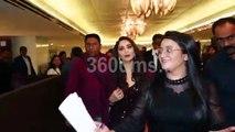 Salman Khan with Madhuri and Katrina Kaif attend PC of 20th Homecoming IIFA Awards