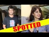 Sushant Singh Rajput and Rhea Chakraborty Spotted Juhu PVR