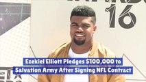 Ezekiel Elliot Is A Generous Football Player