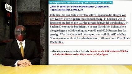 Kommentar - Nach der Landtagswahl in Sachsen und Brandenburg