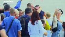 Intercambio de presos entre Rusia y Ucrania
