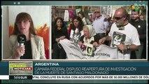 Argentina: ordenan reabrir caso de Santiago Maldonado