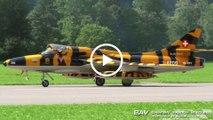 |Zigermeet 2019| Hawker Hunter T.Mk.68 - Verein Hunter Flying Group HB-RVV - Display with Patrouille Suisse at Mollis Airfield [1080p50]
