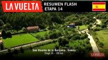 Resumen Flash - Etapa 14 | La Vuelta 19