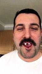 Freddie Mercury singing