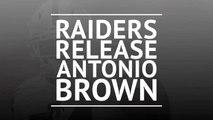 Oakland Raiders release Antonio Brown