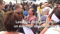 Les prisonniers ukrainiens libérés arrivent à Kiev après l'échange
