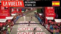 Resumen - Etapa 14 | La Vuelta 19