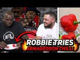 TROOPZ FORFEIT REVENGE!! Robbie Is Forced To Eat The Worlds Hottest Chillies
