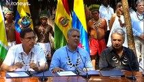 Signature d'un pacte pour la protection de l'Amazonie