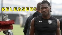 [Hot News] Antonio Brown RELEASED!