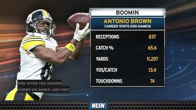 Antonio Brown's Career Numbers Bode Well For The Patriots