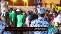 Sidiki Diabaté chante pour Arafat dj et la chine au festival des grillades 12