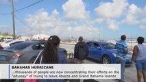 Thousands in 'odyssey' to escape Bahamas amid Dorian destruction