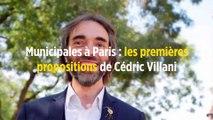 Municipales à Paris : les premières propositions de Cédric Villani