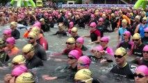 Triathlon de Gérardmer - 1 200 concurrents à l'eau pour l'épreuve découverte