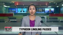 S. Korea reports 3 deaths from Typhoon Lingling; precipitation to continue