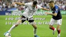 France-Albanie : mauvais hymne albanais et victoire des Bleus
