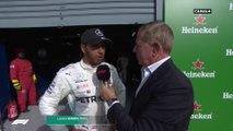 """Hamilton : """"Il était plus rapide"""""""