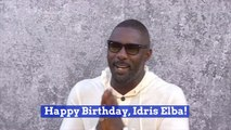 Hot Guy Idris Elba Gets A Year Older