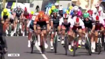 Cycling - GP de Fourmies : Pascal Ackermann Wins, Nacer Bouhanni Big Crash