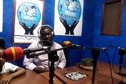 Interview du président de l'école de football tcheuffa sport academy à la radio Estuaire de Douala Cameroun