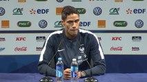 """Bleus - Varane : """"Le Stade de France, c'est chez nous"""""""