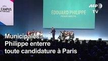 Municipales: Philippe enterre une candidature à Paris