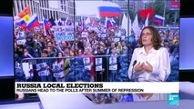 Many people in Russia are not aware of the anti-government protests in Moscow