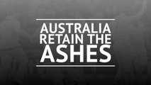Australia retain the Ashes