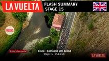 Flash Summary - Stage 15 | La Vuelta 19