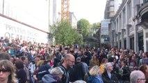 Manifestation pour le climat en Wallonie