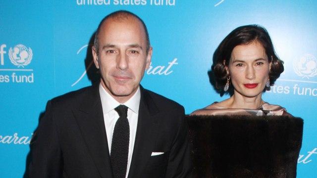 Matt Lauer And Annette Roque Finalize Divorce