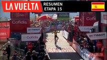 Resumen - Etapa 15 | La Vuelta 19