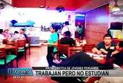 Problemática de los jóvenes peruanos: trabajan pero no estudian