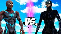 Secret Wars Spider-Man VS Lady Venom - EPIC BATTLE