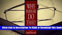 [Read] Why Does He Do That?: Inside the Minds of Angry and Controlling Men  For Kindle