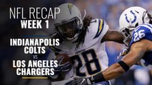 NFL Week 1: Indianapolis Colts vs Los Angeles Chargers Recap