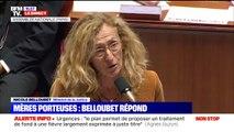 """Nicole Belloubet: """"Le gouvernement n'entend nullement modifier la situation juridique des enfants nés par GPA"""""""