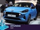 Hyundai i10 en direct du salon de Francfort 2019