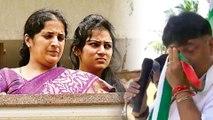 D K Shivakumar : ಪತ್ನಿ, ಪುತ್ರಿ ಕಂಡು ಭಾವುಕರಾದ ಡಿಕೆ ಶಿವಕುಮಾರ್   Oneindia Kananda