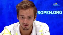 "US Open 2019 - Daniil Medvedev is reconciled with the public : ""I conquered the crowd"""