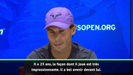 """US Open - Nadal : """"La carrière de Daniil est prometteuse"""""""