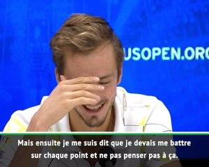 """US Open - Medvedev : """"Déçu du résultat mais heureux de ma façon de jouer"""""""